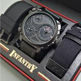 Swiss Army Infantry Full Set Jam Tangan Pria Hitam Swiss Army Diskon 30