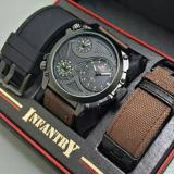 Beli Swiss Army Infantry Full Set Jam Tangan Pria Sa 7556 Swiss Army Asli