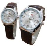 Harga Swiss Army Jam Tangan Couple Leather Strap Sa 152 Brown Dial Couple Swiss Army Original