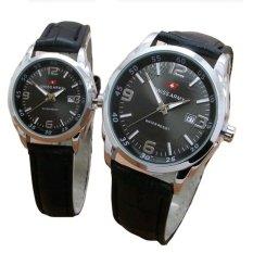 Toko Swiss Army Jam Tangan Couple Leather Strap Sa 152 Fb Online Terpercaya