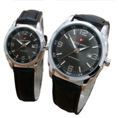 Diskon Swiss Army Jam Tangan Couple Leather Strap Sa 152 Fb Akhir Tahun
