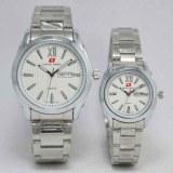 Swiss Army Jam Tangan Couple Rantai Silver Sa 2550 Swiss Army Diskon 40