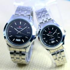 Promo Swiss Army Jam Tangan Couple Sa 6043 Murah
