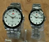 Spesifikasi Swiss Army Jam Tangan Couple Serries Stainlesstell Strap Sa 2791 Silver White Terbaik