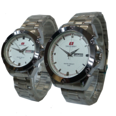 Tips Beli Swiss Army Jam Tangan Couple Silver Stainless Steel Sa 646 D