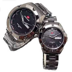 Jual Swiss Army Jam Tangan Couple Stainless Steel Sa 1570 Black Couple Swiss Army Ori