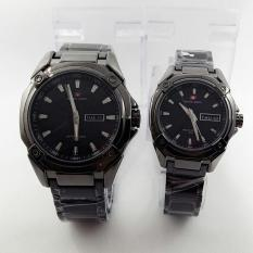 Beli Swiss Army Jam Tangan Couple Stainless Steel Sa 1591 Black Murah