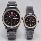 Beli Swiss Army Jam Tangan Couple Stainless Steel Sa 1610 Black Gold Swiss Army