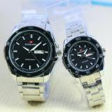 Diskon Produk Swiss Army Jam Tangan Couple Stainless Steel Terbaru