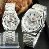 Promo Swiss Army Jam Tangan Couple Stainless Steel Terbaru Swiss Army