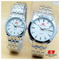 Harga Swiss Army Jam Tangan Couple Stanless Steel Ds Online