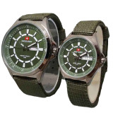 Jual Swiss Army Jam Tangan Couple Strap Canvas Sa 1490 Green