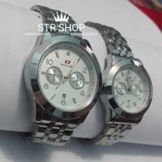 Beli Swiss Army Jam Tangan Fashion Pasangan Pria Dan Wanita Cople Sa4190 Online Terpercaya