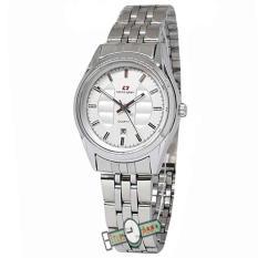 Spesifikasi Swiss Army Jam Tangan Fashion Wanita White Stainless Sa5093 White Terbaik
