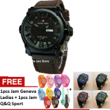 Beli Swiss Army Jam Tangan Kasual Pria Leather Strap Sa 1441 Db Free Jam Q Q Sport Jam Geneva Ladies Swiss Army Online