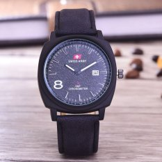 Review Swiss Army Jam Tangan Pria Body Black Black Dial Black Leather Sa 3595A Bb Tgl Kulit Hitam Swiss Army