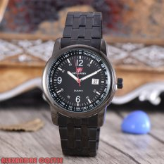 Jual Swiss Army Jam Tangan Pria Body Black Black Dial Black Stainless Stell Band Sa Rt 5010 Bb Tgl Swiss Army Original