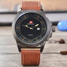 Dimana Beli Swiss Army Jam Tangan Pria Body Black Black Dial Sa 2199B G Bb Tgl Body Black Black Dial Brown Leather Strap Swiss Army
