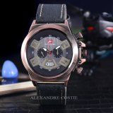 Jual Swiss Army Jam Tangan Pria Body Bronze Black Dial Sa 2459A Bb Black Leather Swiss Army Original