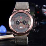 Harga Swiss Army Jam Tangan Pria Body Bronze Grey Dial Sa 2459B Bgrey Grey Leather Swiss Army Asli