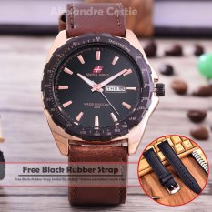 Rp 69.000. Swiss Army - Jam Tangan Pria – Body Rosegold – Black Dial – Brown Leather ...
