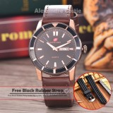 Beli Swiss Army Jam Tangan Pria Body Rosegold Black Dial Brown Leather Sa 5701 Rg Tgl Hr Brown Leather Baru