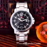 Jual Swiss Army Jam Tangan Pria Body Silver Black Dial Stainless Steel Band Sa Rt 5385 Ak G Tgl Sb Online