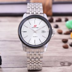 Diskon Swiss Army Jam Tangan Pria Body Silver White Dial Stainless Steel Band Sa Rt 5539 Sw Tgl Branded