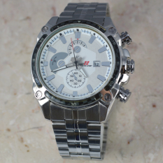 Review Swiss Army Jam Tangan Pria Body Silver White Dial Stainless Steel Band Sa Rt Tgl 5081 Sw Swiss Army