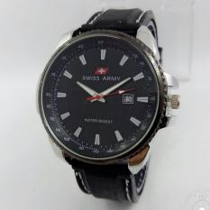 Swiss army - Jam tangan Pria - Casual - Rubber strap - Analog - Date On