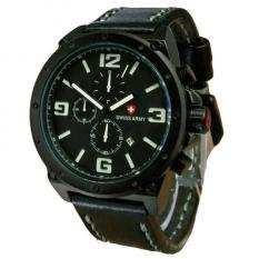 Review Tentang Swiss Army Jam Tangan Pria Leather Strap Light Brown Sa 5136 Bw