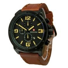 Beli Swiss Army Jam Tangan Pria Leather Strap Light Brown Sa 5138 Lby Online