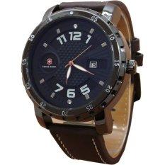 Beli Swiss Army Jam Tangan Pria Leather Strap Sa 1085 Dbw Cokelat Swiss Army Online