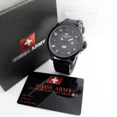 Tips Beli Swiss Army Jam Tangan Pria Leather Strap Sa 1210
