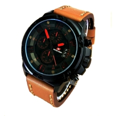 Diskon Swiss Army Jam Tangan Pria Leather Strap Sa 2969Bl Merah Swiss Army