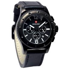 Toko Swiss Army Jam Tangan Pria Leather Strap Sa 4447 Bn Lengkap