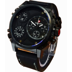 Jual Swiss Army Jam Tangan Pria Leather Strap Sa 8813 Bp Hitam Antik
