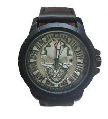 Harga Swiss Army Jam Tangan Pria Leather Strap Sa7823 Dbw Dark Brown Satu Set