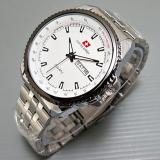 Toko Swiss Army Jam Tangan Pria Putih Silver Strap Stainless Sa46684 Dekat Sini