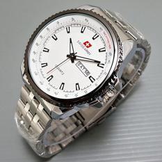 Perbandingan Harga Swiss Army Jam Tangan Pria Putih Silver Strap Stainless Sa46684 Swiss Army Di Jawa Barat