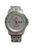Swiss Army Jam Tangan Pria Sa 2117 M Body Bezel Silver Limited Edition Original