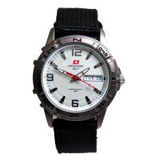 Spesifikasi Swiss Army Jam Tangan Pria Sa 4019 M Bezel Silver Bagus