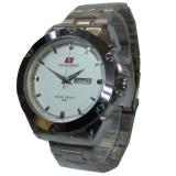 Beli Swiss Army Jam Tangan Pria Silver Stainless Steel Sa 646 F Online Murah