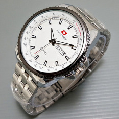 Berapa Harga Swiss Army Jam Tangan Pria Silver Strap Stainless Sa 2699Bo Putih Swiss Army Di Dki Jakarta