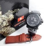 Swiss Army Jam Tangan Pria Stainless Sa 57687 P Promo Beli 1 Gratis 1