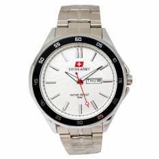 Beli Swiss Army Jam Tangan Pria Stainless Silver Dial Putih Sa 1133 C Seken