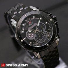Harga Swiss Army Jam Tangan Pria Stainless Steel Sa4444Ny Online