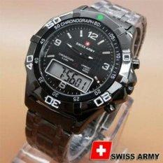 Beli Swiss Army Jam Tangan Pria Strap Kulit Sw4432 Cicilan