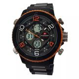 Spesifikasi Swiss Army Jam Tangan Pria Strap Rubber Hitam Orange Sa1403Art Kuningg Yg Baik