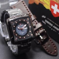Katalog Swiss Army Jam Tangan Pria Strap Stainless Sa 0210 Terbaru